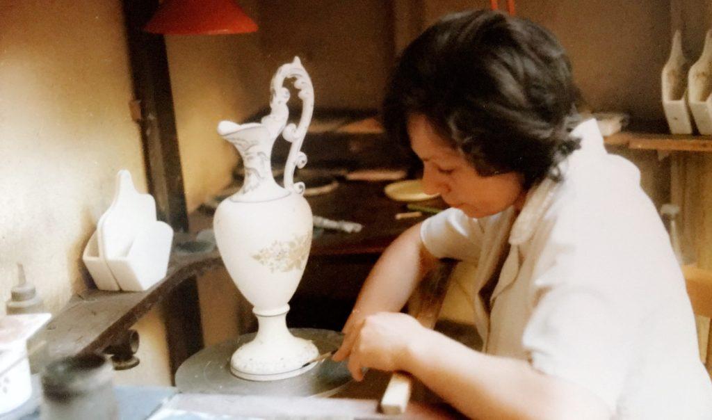 émail faïences décoration artisanat oxyde peinture