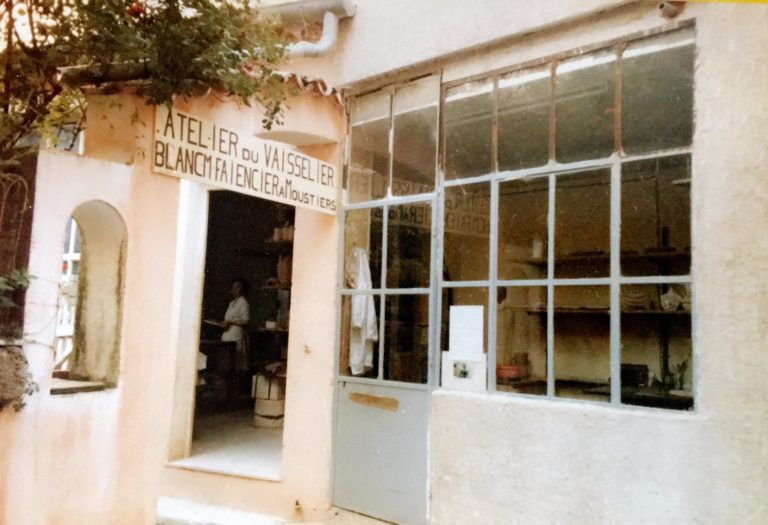 histoire atelier moustiers faïence artisan